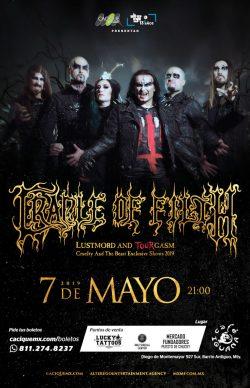 Cradle of Filth en Monterrey 2019
