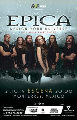 Epica en Monterrey 2019