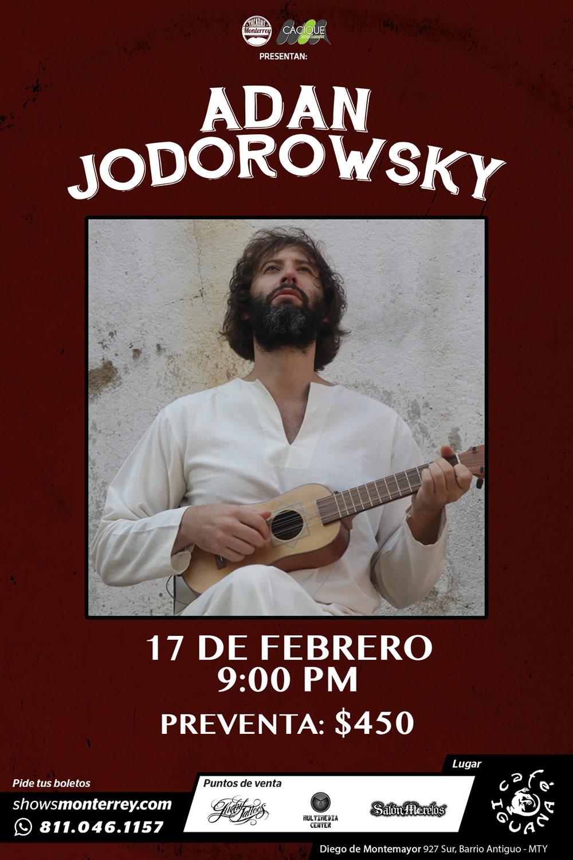 Adan Jodorowsky en Monterrey
