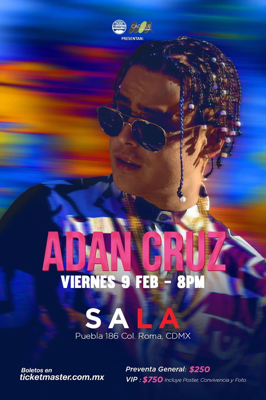 Adan Cruz CDMX Sala Puebla 2018