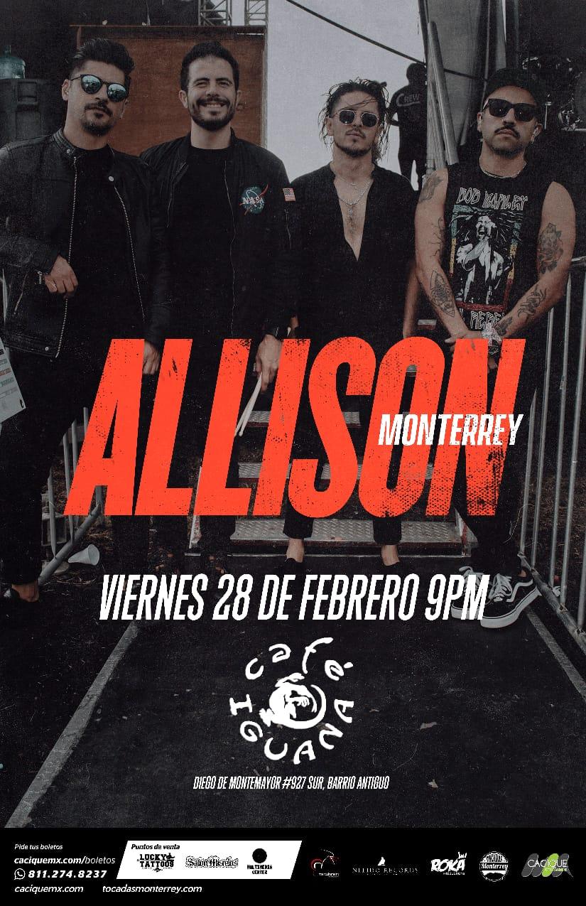 Allsion en Monterrey, Febrero 2020