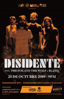 Disidente en Monterrey 2019