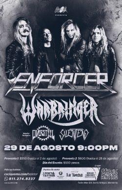 Enforcer y Warbringer en Monterrey 2019