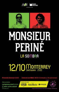 Monsieur Perine en Monterrey