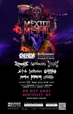 México Metal Fest V, 30 Octubre 2021