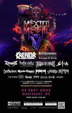 México Metal Fest V 2022