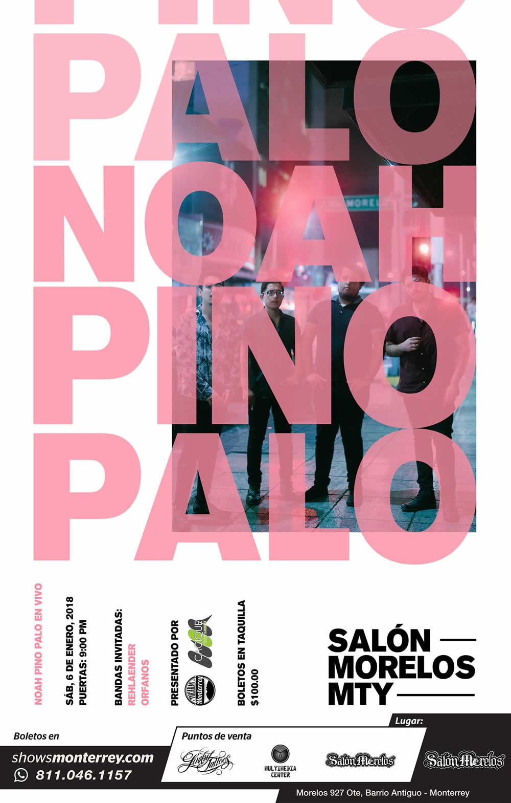 Noah Pino Palo en Salón Morelos