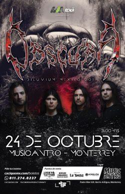 Obscura en Monterrey 2019