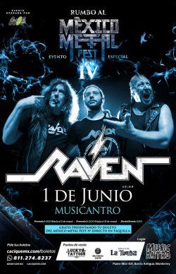 Raven en Monterrey 2019