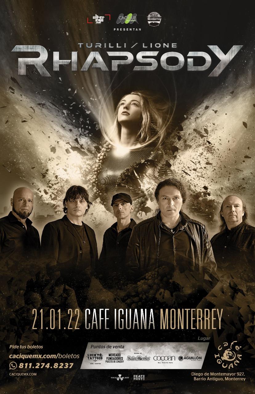 Rhapsody en Monterrey, Enero 2022