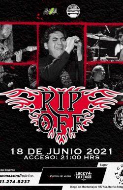 Rip Off en Café Iguana, Mty 2021