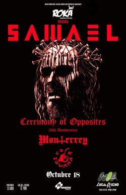 Samael en Monterrey 2019