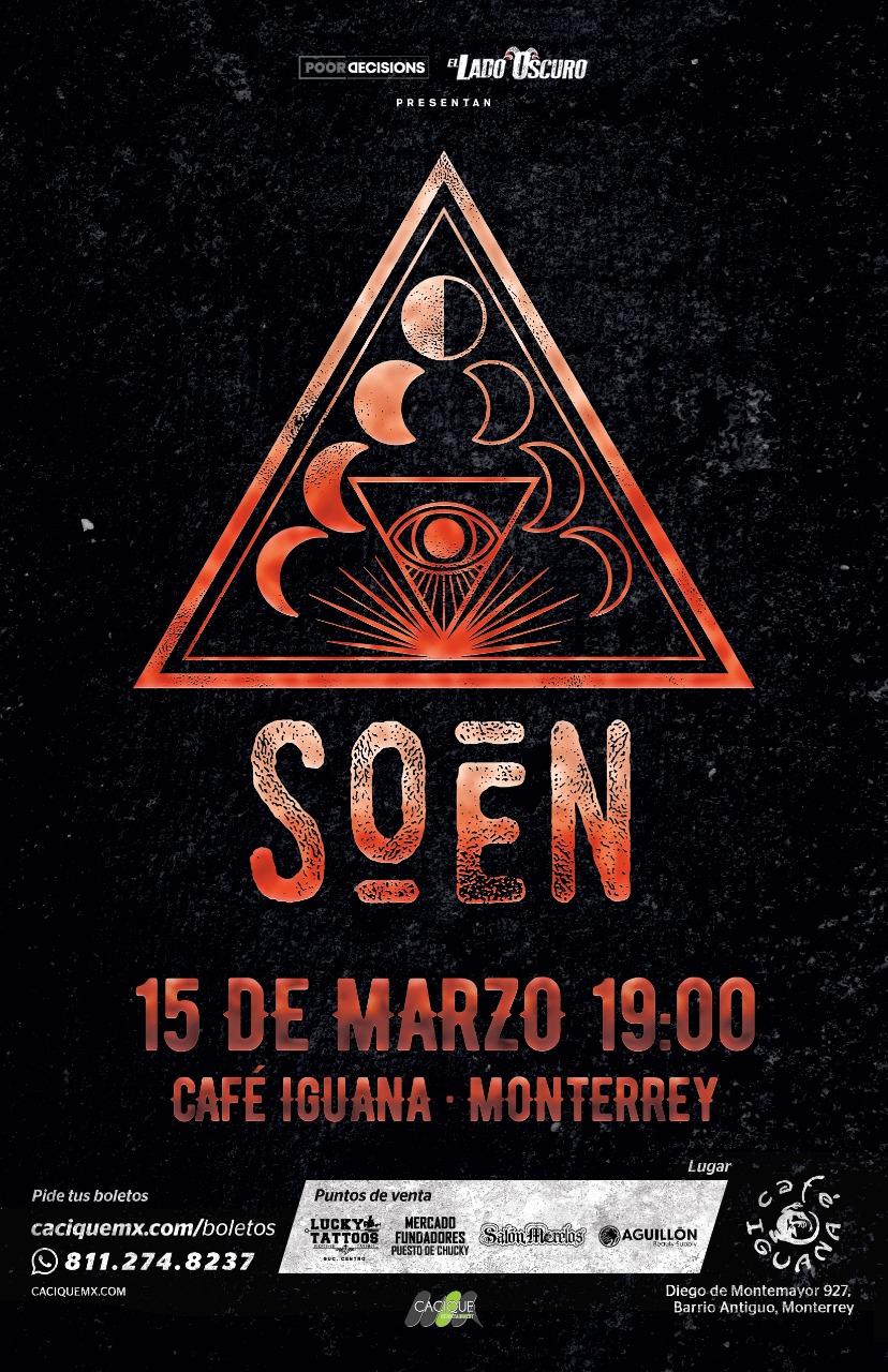 SOEN en Monterrey 2020