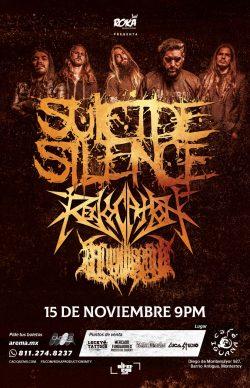 Suicide Silence en Monterrey 2019