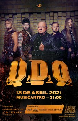 U.D.O. en Monterrey, 2021